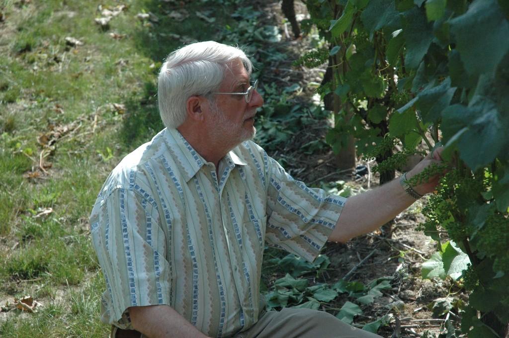 David Adelsheim check Pinot Noir in 2011