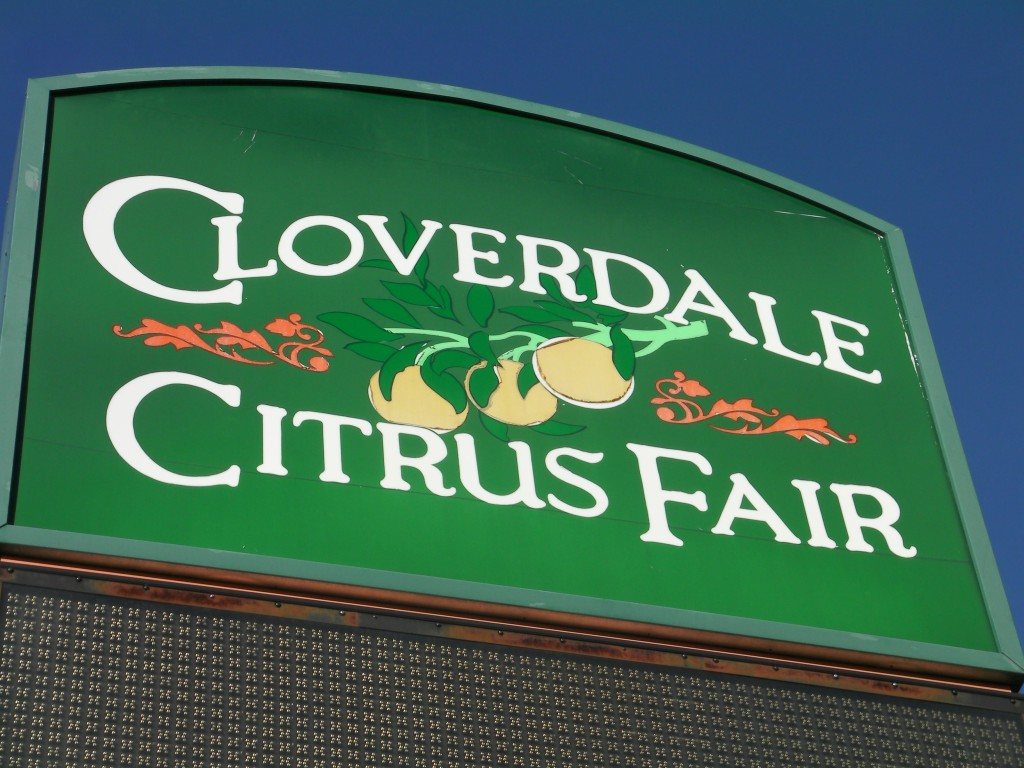 Cloverdale Citrus Fair in northern Sonoma County