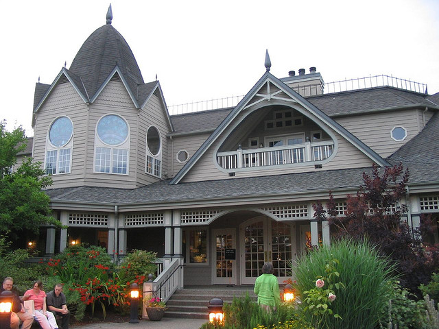 Columbia Winery in Woodinville, Wash., is now owned by Gallo. (Photo from Flickr, click image to see original)