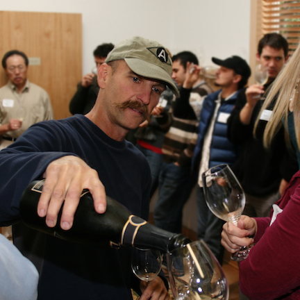 Rollin Soles, sparkling wine producer.