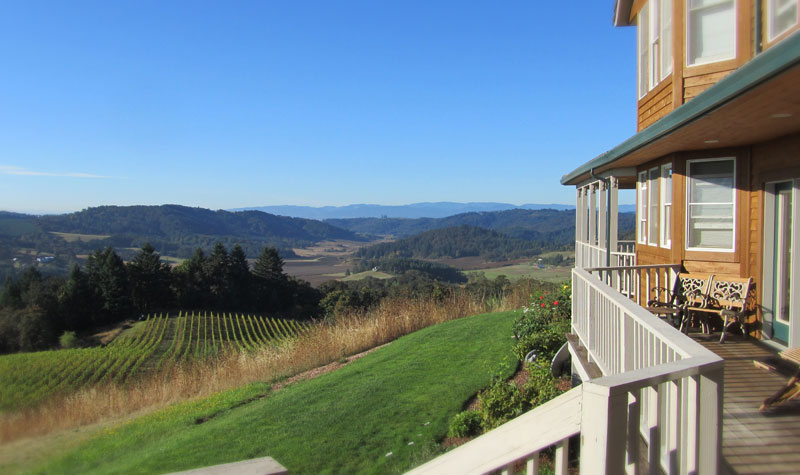 Youngberg Hill Vineyards & Inn near McMinnville, Ore., ranks at one of the Willamette Valley's top wine touring destinations. (Photo courtesy of Youngberg Hill)