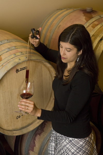 Melissa Burr of Stoller Family Estate in Dundee is one of more than 30 female head winemakers in Oregon. (Photo courtesy of Stoller Family Estate)