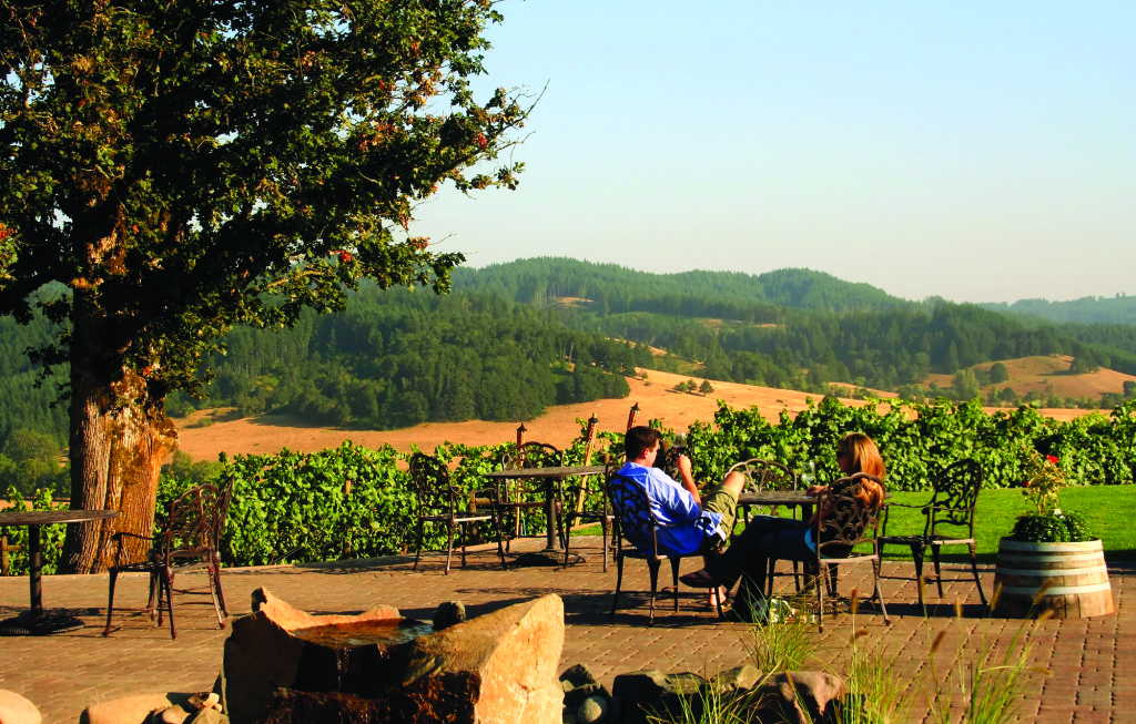 Sweet Cheeks Winery produces award-winning Pinot Gris and Riesling in Eugene, Ore. (Photo courtesy of Sweet Cheeks Winery)