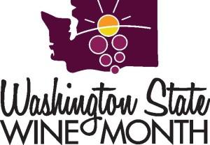 Washington State Wine Month logo
