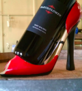 Bartholomew Winery's 2009 Malbec fits comfortably in high heels. (Photo courtesy of Bartholomew Winery)
