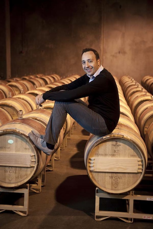 Juan Muñoz Oca is the head winemaker for Columbia Crest in Paterson, Wash. (Courtesy of Columbia Crest)