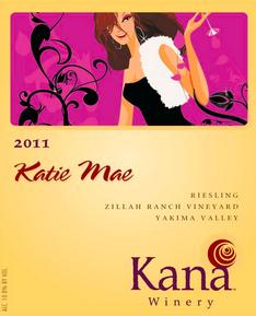 Kana 2011 Katie Mae Riesling