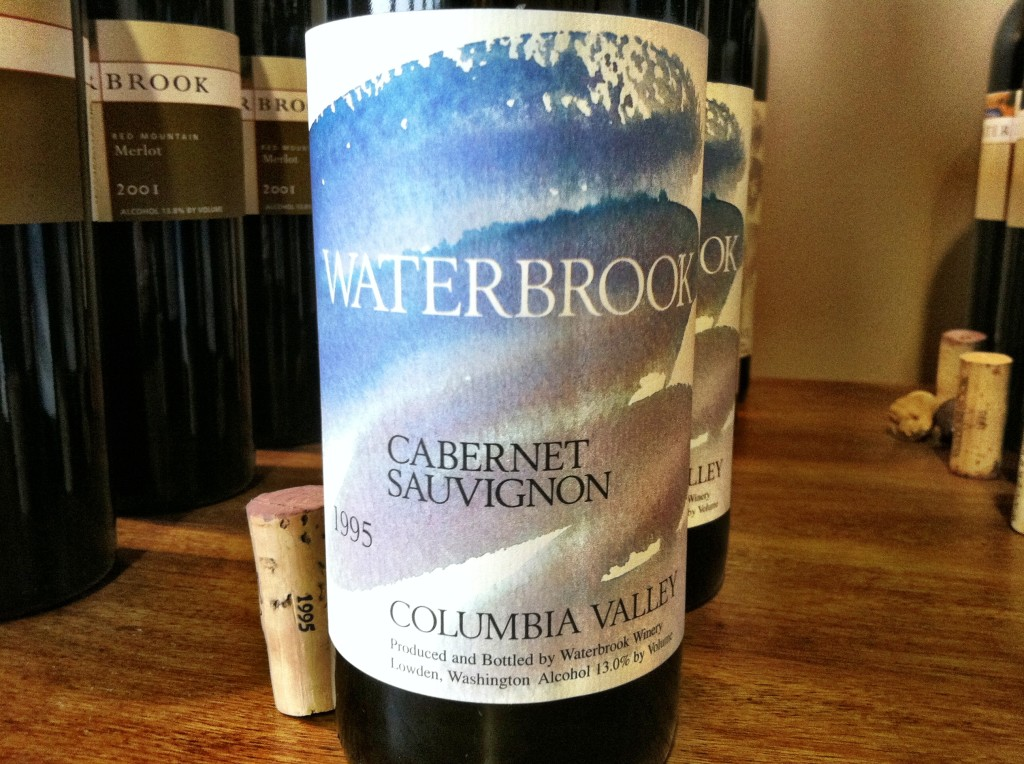 Waterbrook Winery 1995 Cabernet Sauvignon, Columbia Valley