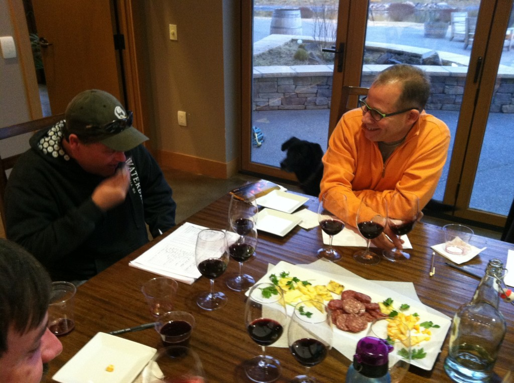 Eric Rindal appointed John Freeman, left, to be Waterbrook's winemaker in 2005.