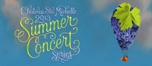 Chateau Ste. Michelle 2013 concert series