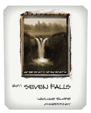 Seven Falls Chardonnay Wahluke Slope  Washington White Wine