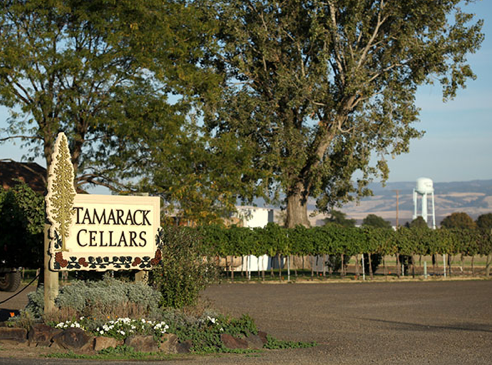 Tamarack Cellars, which operates in a World War II fire station at the Walla Walla Regional Airport, was founded in 1998. (Photo courtesy of Tamarack Cellars)