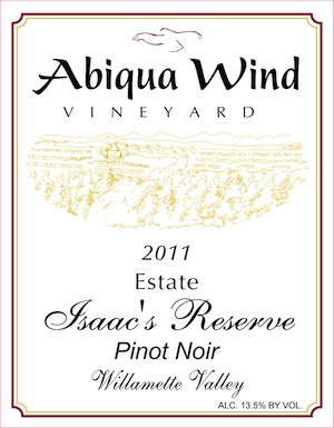 Abiqua Wind Vineyard