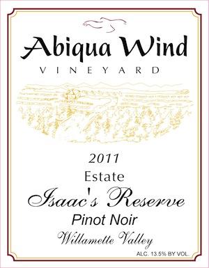 Abiqua Wind Vineyard