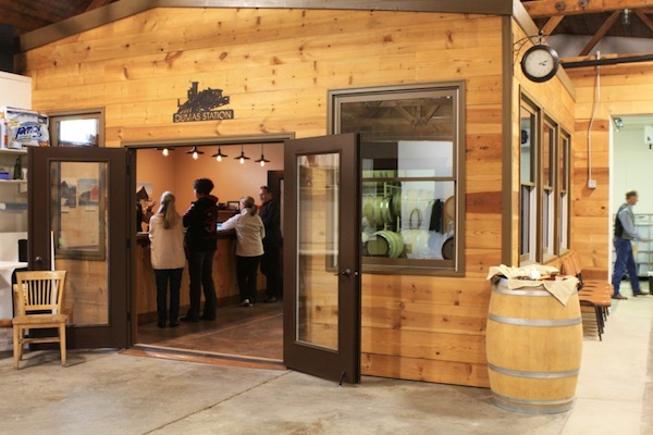 Dumas Station Wines in Dayton, Wash., will be a part of North America's inaugural Wine Tourism Day on Saturday, May 11. (Photo courtesy of Dumas Station Wines)