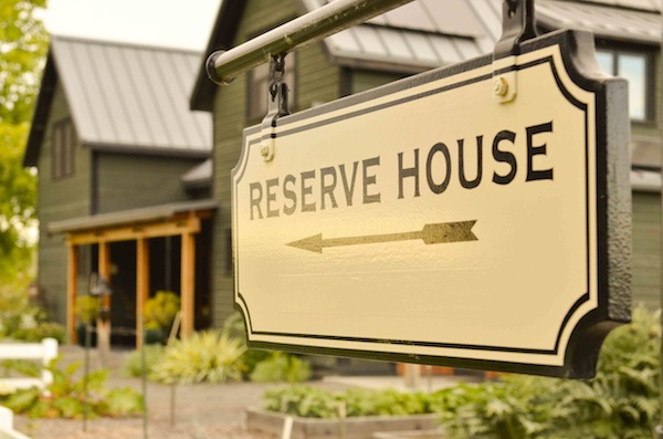 Woodward Canyon Winery's Reserve House Restaurant is open for its second season. (Photo by Colby Kuschatka, courtesy of Woodward Canyon)