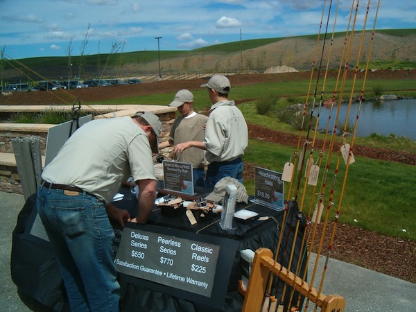 The fifth annual Waterbrook Winery Fly Fishing Fair is scheduled for May 18 in Walla Walla, Wash. (Photo courtesy of Waterbrook Winery)