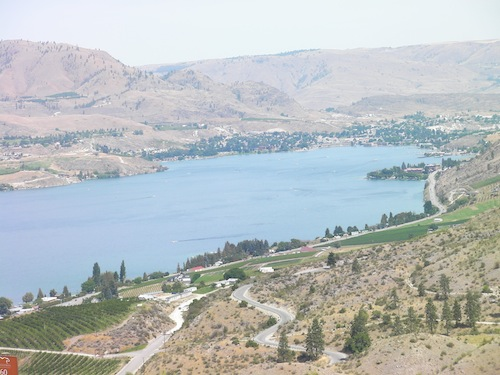 Lake Chelan is part of the North Central Washington wine region.