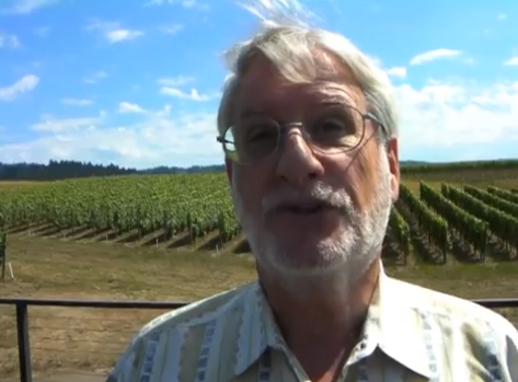 David Adelsheim celebrated his 40 years in the Oregon wine industry in 2011 with his Adelsheim Vineyards in the Chehalem Mountains near Newberg. (Andy Perdue/Great Northwest Wine)