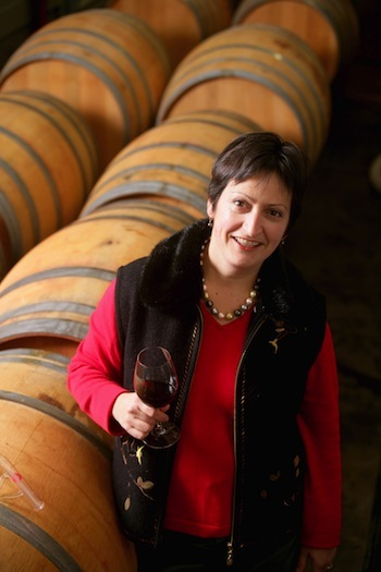Marie-Eve Gilla, co-owner and winemaker for Forgeron Cellars in Walla Walla, Wash., is among the 30 members of Woodinville Wine Country to participate in a new program that offers incentives to tasting room visitors who live in one of three zip codes near the Seattle-area suburb. (Photo courtesy Forgeron Cellars)
