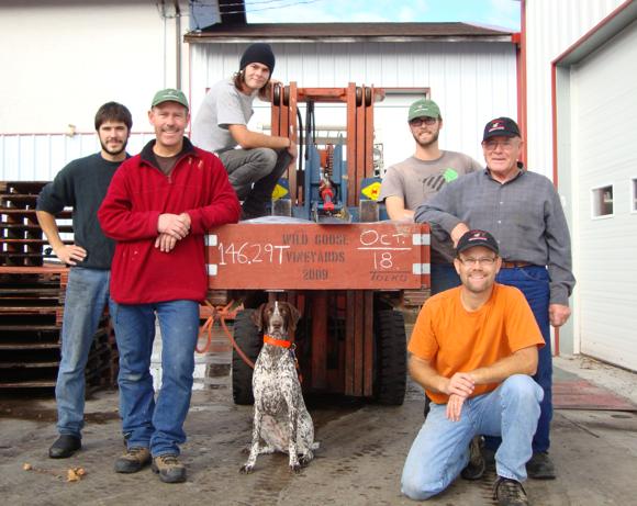 Wild Goose team - 3 generations inspire award-winning wines at Wild Goose Vineyards