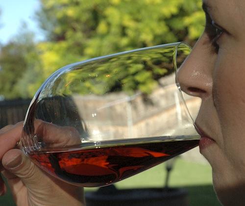 Riedel wineglass