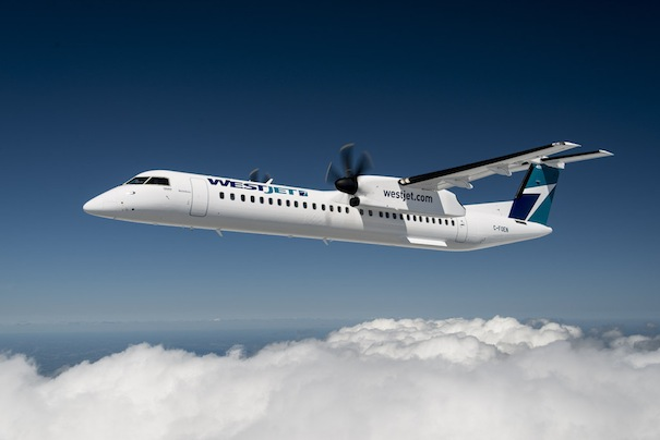 Canadian regional carrier WestJet Encore, which includes the Bombardier Q400 NextGen in its fleet, will feature Okanagan Valley wines on flights during July and August.