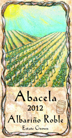 Abacela's 2012 Albarino Roble is fermented in new American oak.