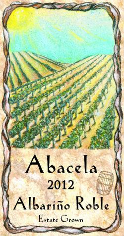 Abacela's 2012 Albarino Roble is fermented in new American oak.