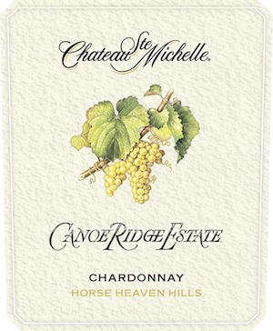Chateau Ste. Michelle's Canoe Ridge Estate Chardonnay is from the Horse Heaven Hills.