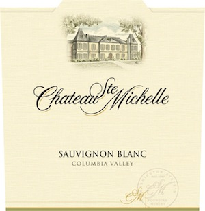 Chateau Ste. Michelle makes a deliciously dry and crisp Sauvignon Blanc.