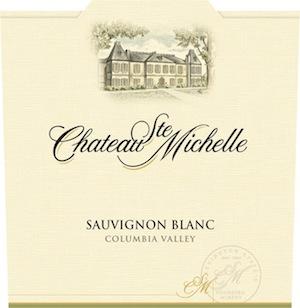 Chateau Ste. Michelle makes a deliciously dry and crisp Sauvignon Blanc.