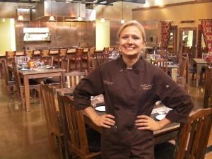 Kristin Martilla Johnson from Wasilla, Alaska, is executive chef/owner of Martilla's Restaurant in Prosser, Wash.