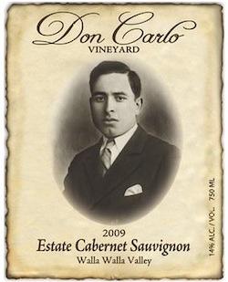 Don Carlo Vineyard is in the Marcus Whitman Hotel in Walla Walla.