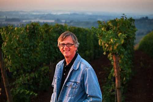 Gary Horner is the winemaker for Erath Winery in Oregon. He is excited about the grapes he received from his estate Willakia Vineyard.