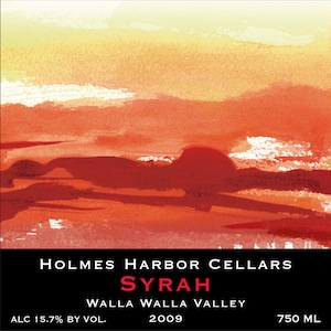 Holmes Harbor Cellars is on Whidbey Island in Washington state.