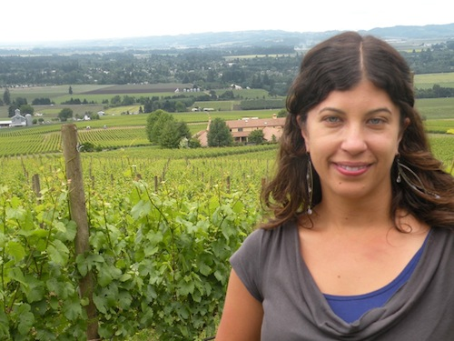 Melissa Burr is the head winemaker at Stoller Family Estate in Oregon's Dundee Hills.