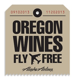 Alaska Airlines has launched Oregon Wines Fly Free