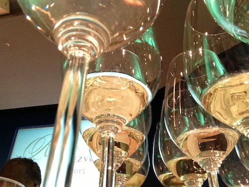 The Riesling Rendezvous was held in Seattle and Woodinville, Wash. Yashar Shayan sells wine through Impulse Wine.