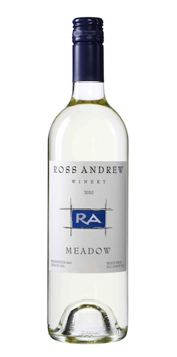 Ross Andrew Winery makes a white blend called Meadow from Oregon and Washington grapes.