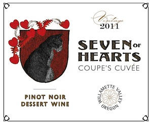 Seven of Hearts is a winery in Carlton, Oregon