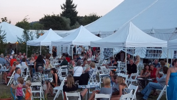 The Southern Oregon World of Wine grand tasting was held at Bigham Knoll in Jacksonville.