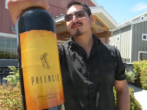 Victor Palencia owns Palencia Wine Co. in Walla Walla, Washington