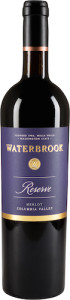 waterbrook-winery-reserve-merlot-purple-gold-botttle