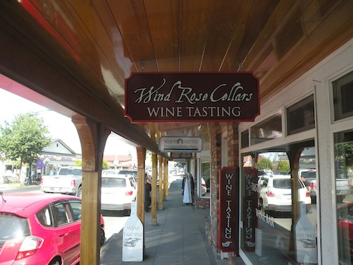 Wind Rose Cellars in downtown Sequim, Wash.