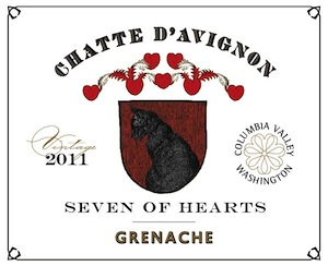 Seven of Hearts Winery produces this Grenache.