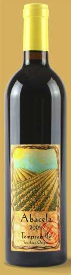 Abacela's Tempranillo comes from estate grapes in Roseburg, Oregon.