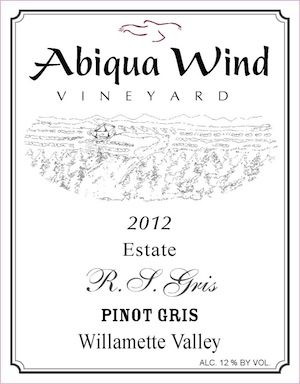 Abiqua Wind Vineyard is east of Salem, Oregon.