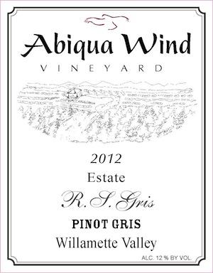 Abiqua Wind Vineyard is east of Salem, Oregon.