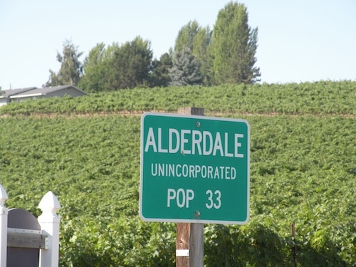 Champoux Vineyards is in Alderdale, Washington.